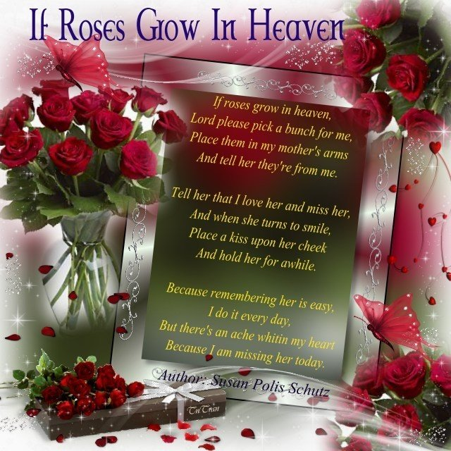 hi mom miss you and love you very much love deborah